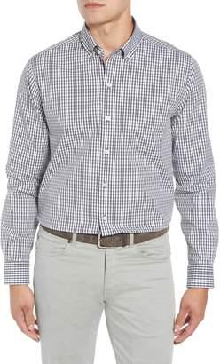 Cutter & Buck Classic Fit Gingham Non-Iron Sport Shirt