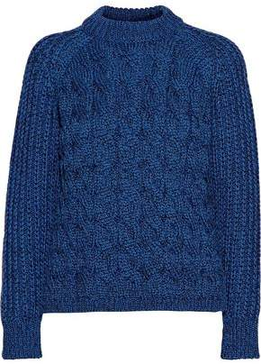 Proenza Schouler Cable-Knit Silk-Blend Sweater
