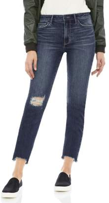 Sam Edelman The Mary Jane Ripped Ankle Jeans