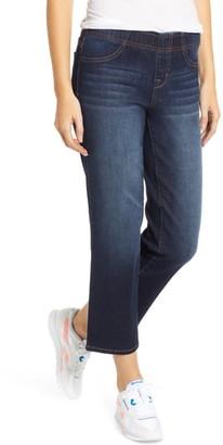 1822 Denim Pull On Straight Leg Crop Jeans