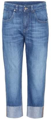 Brunello Cucinelli Cuffed cropped jeans