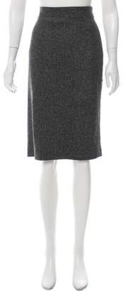Bottega Veneta Virgin Wool Knee-Length Skirt