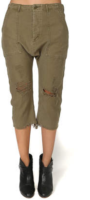 R 13 Ripped Utility Pant