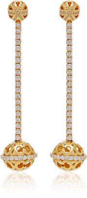 Colette Jewelry 18K Gold Diamond Earrings