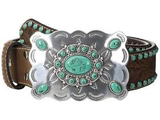 Nocona M&F Western Southwest Turquoise Buckle Belt