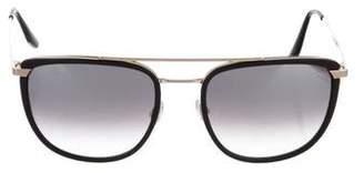Barton Perreira Lafayette Mirrored Sunglasses w/ Tags