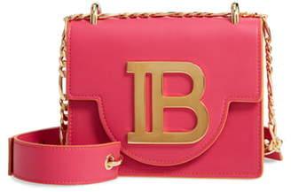 Balmain BBag 18 Leather Shoulder Bag