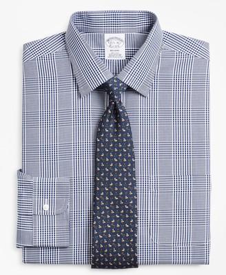 Brooks Brothers Regent Fitted Dress Shirt, Non-Iron Glen Plaid