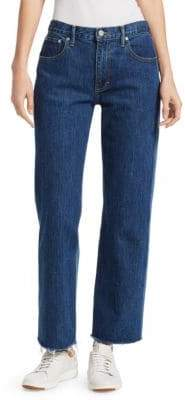 Elizabeth and James Holden Two-Tone Straight Leg Jeans