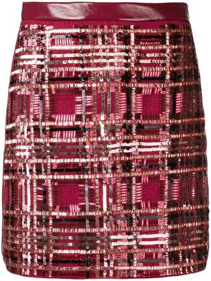 Elisabetta Franchi sequin party skirt