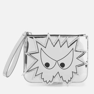 McQ Women's Medium Pouch - Silver