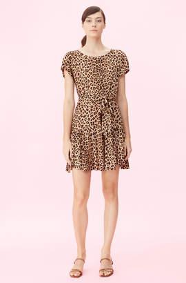 Rebecca Taylor Spring Leopard Jersey Dress