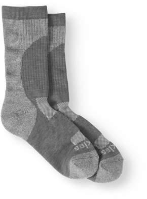 Dickies Ladies 1-Pair All Season Curve Basic Crew Grey - Shoe Size 6-9
