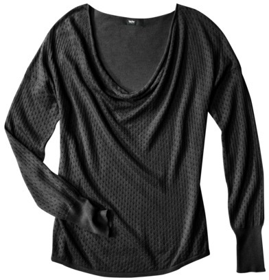 Mossimo Women's Ultra Soft Cowl Neck Sweater - Assorted Colors