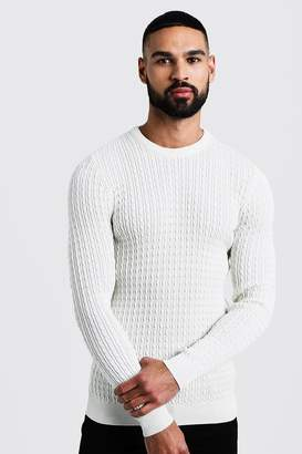Mini Cable Knitted Jumper