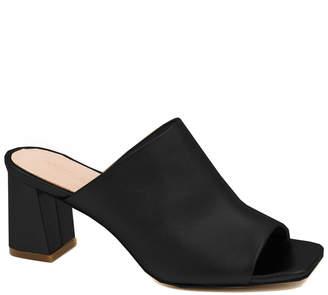 Rachel Zoe Mila Peep Toe Leather Mule