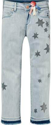 Scotch & Soda Star Print Denim Pants