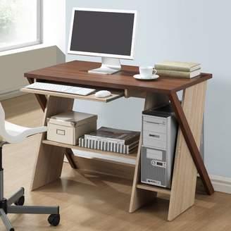 Baxton Studio Wholesale Interiors Rhombus Computer Desk