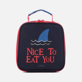 Joules Junior Munch Lunch Bag - Chambre Blue Shark Dive