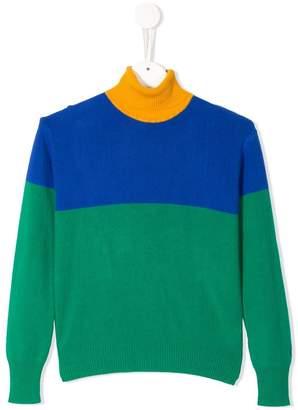 Bobo Choses colour block jumper