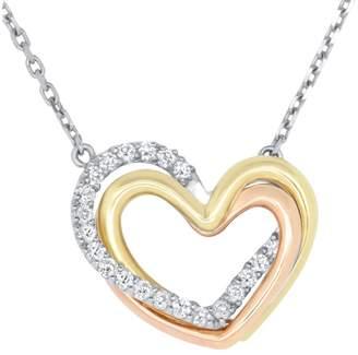 Alberto Diamond Heart Necklace