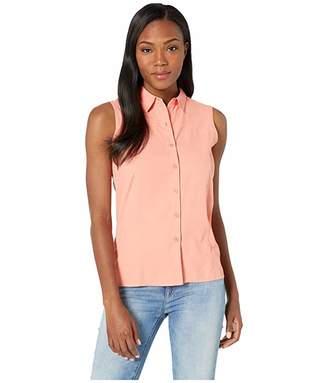 White Sierra Gobi Desert Sleeveless Shirt