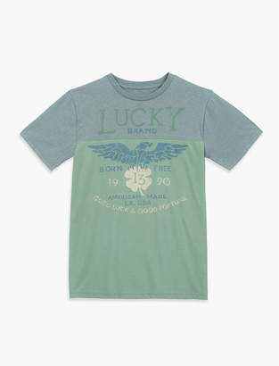 Lucky Brand Proud Eagle Tee