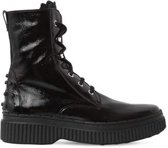 Tod's 40mm Naplack Combat Boots