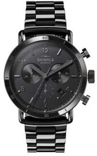 Shinola Canfield Sport Chronograph Bracelet Watch