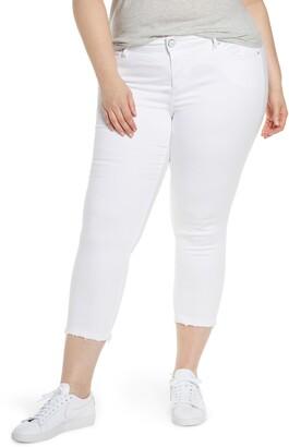 SLINK Jeans Crop Straight-Leg Jeans