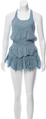 LoveShackFancy Tiered Mini Dress