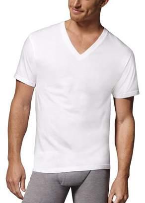 Hanes Men's ComfortSoft White Tagless 12 Extreme Value Pack V-Neck Shirt