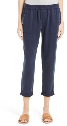 Women's Joie Saphine Pull-On Twill Roll Cuff Pants $178 thestylecure.com