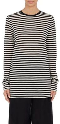 Marc Jacobs Women's Striped Long-Sleeve T-Shirt $225 thestylecure.com