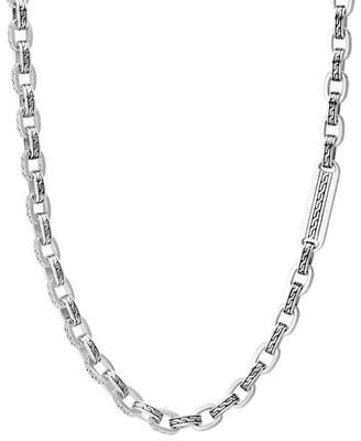 John Hardy Men's Classic Chain Link Sterling Silver Necklace