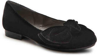 Bellini Bustle Bow Velvet Ballet Flat - Women's