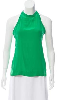 Yigal Azrouel Sleeveless Silk Top