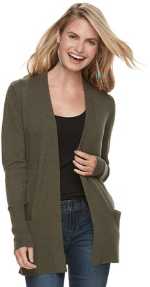 Sonoma Goods For Life Women's SONOMA Goods for Life Ribbed Cardigan