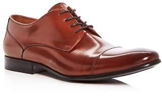 Kenneth Cole Men's Mix Leather Cap Toe Oxfords