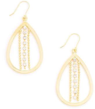 Wild Lilies Jewelry Teardrop Hoop Earrings