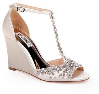 Badgley Mischka Sarah T-Strap Sandal