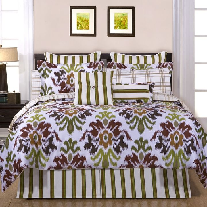 Pointehaven montgomery 12-pc. bed set - king