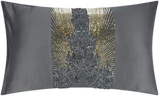 Kylie Minogue At Home at Home - Kila Pillowcase - Gunmetal - 50x75cm