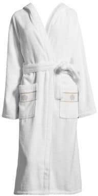 Cotton Bathrobe with Hood