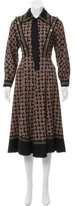 Philosophy di Lorenzo Serafini Paisley Midi Dress w/ Tags