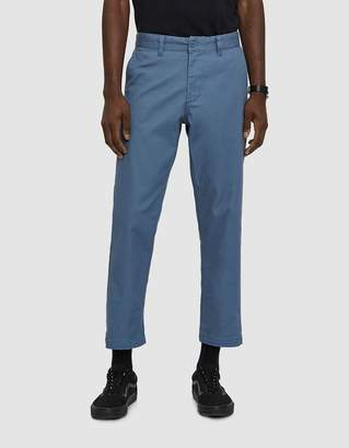 Obey Straggler Flooded Pants in Dull Blue