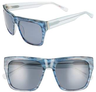 ED Ellen Degeneres 57mm Gradient Square Sunglasses