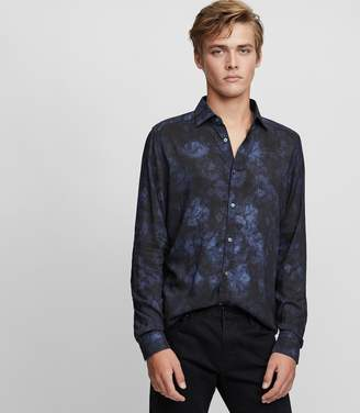 Reiss Delmar Faded Print Shirt