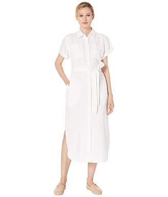 Lauren Ralph Lauren Belted Linen Shirtdress