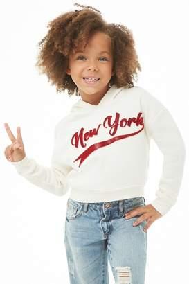 Forever 21 Girls New York Hoodie (Kids)